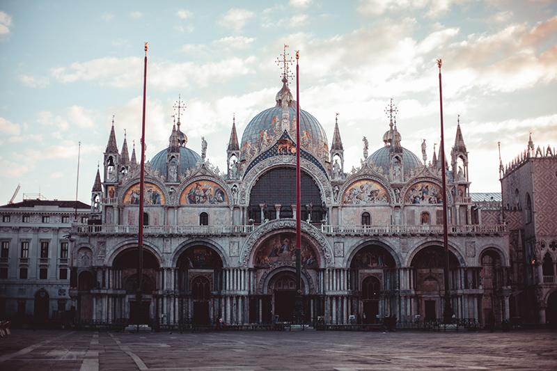 Markusplatz Markusdom Venedig